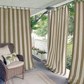 Asstd National Brand Highland Stripe Indoor/Outdoor Tab-Top Curtain Panel