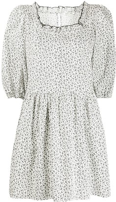Sandy Liang Tilda floral-print cotton dress