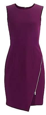 Milly Women's Cady Zipper Sheath Dress