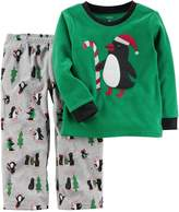 Carter's Boys' 12 Month-14 2-Piece Christmas Fleece Pajamas