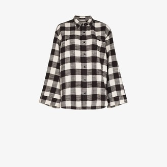 R 13 Plaid Shirt
