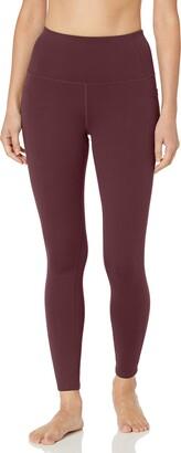 Skechers Womens Go Flex Go Walk High-Waist Leggings 2.0 Yoga Pants Winestasting