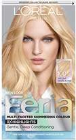 L'Oreal Feria Hair Color, 100 Very Light Natural Blonde (Packaging May Vary)