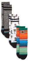 Stance Toddler Boy's Monkey Assorted 3-Pack Socks