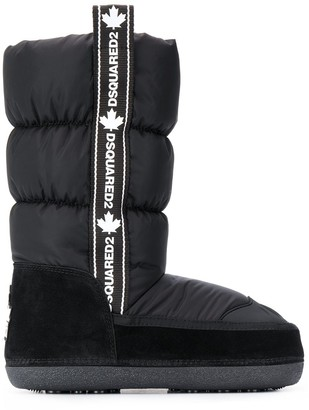 DSQUARED2 Logo-Tape Snow Boots