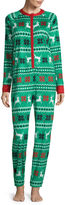 North Pole Trading Co Family Long Sleeve One Piece Pajama