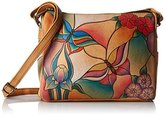 Anuschka Handpainted Leather Twin Top Small Convertible