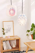 Urban Outfitters Printed Paper Lantern Pendant
