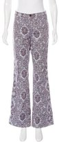 Moschino Floral Print Flared Pants