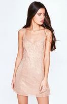 KENDALL + KYLIE Kendall & Kylie Metallic Mini Dress