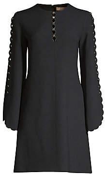 Michael Kors Women's Scallop Sleeve Shift Dress
