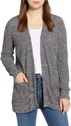Caslon Marled Cardigan Sweater