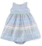 Ralph Lauren Baby Girls Cotton Oxford Dress