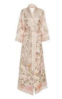 Moda Operandi x De Gournay Printed Silk Robe