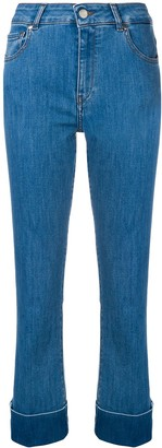 Fay Slim Turn Up Jeans