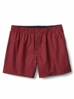 Gap Holiday plaid boxers