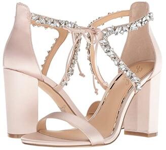 Badgley Mischka Thamar (Champagne) Women's Shoes