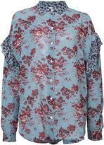 Robert Rodriguez floral blouse - women - Silk - 6