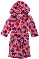 Playshoes Retro Fleece Hooded Bathrobe Baby Girl's Loungewear 1 Year