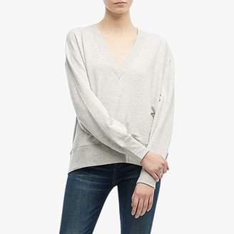 Rag & Bone Flora Pullover (Heather Grey) Women's Clothing