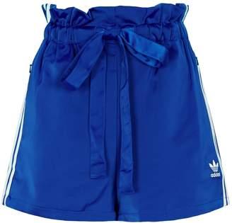 adidas Paper Bag Waist 3-Stripes Shorts