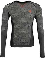 Odlo Evolution Warm Undershirt Black /concrete Grey/orangeade