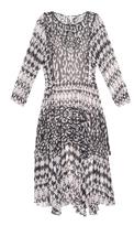 Rebecca Taylor Border Leo silk-chiffon dress