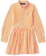 Ralph Lauren Bengal-Striped Shirtdress, Toddler & Little Girls (2T-6X)