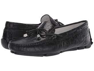 Massimo Matteo Croco Tie Driver (Incendaire Brown) Women's Flat Shoes