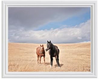Pottery Barn Open Range Horses by Jennifer Meyers