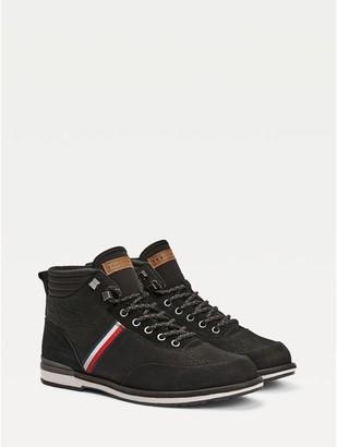 Tommy Hilfiger Mod Stripe Leather Boot