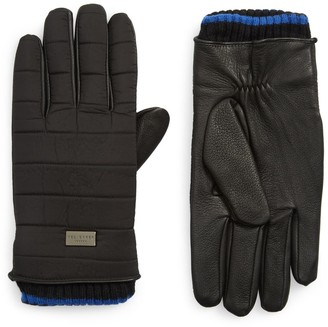 Ted Baker Nylon Quilted Gloves