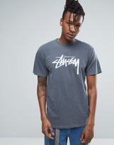 Stussy T-shirt With Large Logo