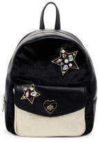 Betsey Johnson Love Turn Embellished Backpack