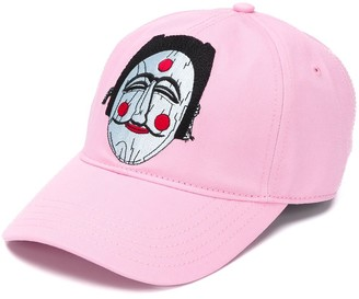 Kirin Mask-Embroidered Baseball Cap