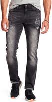 """William Rast Deam Slim Straight Denim Jeans - 32\"""" Inseam"""