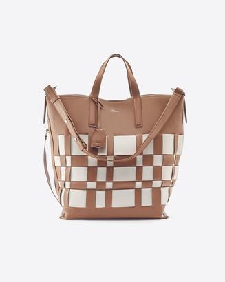 3.1 Phillip Lim Odita Modern Lattice Shopper