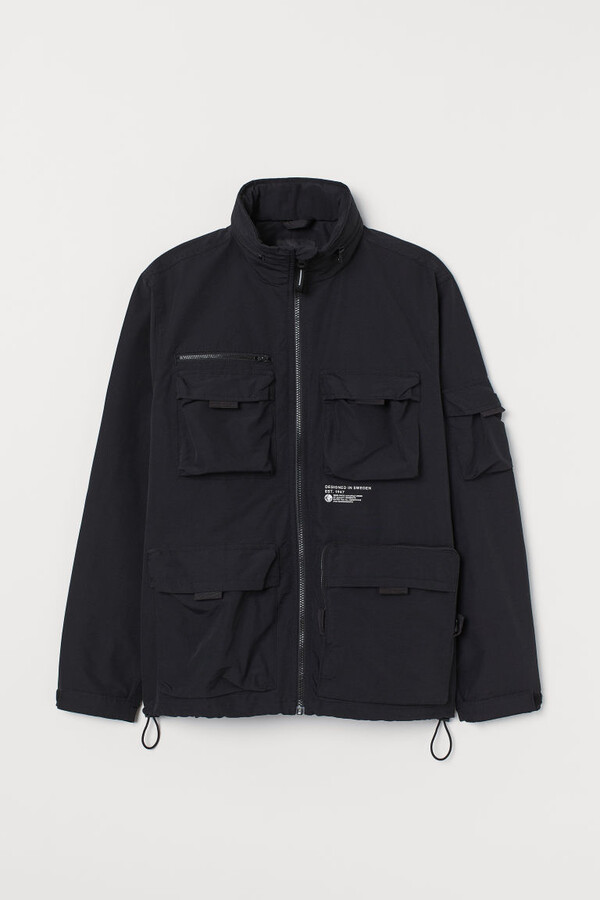 Thumbnail for your product : H&M Stand-up-collar Jacket - Black