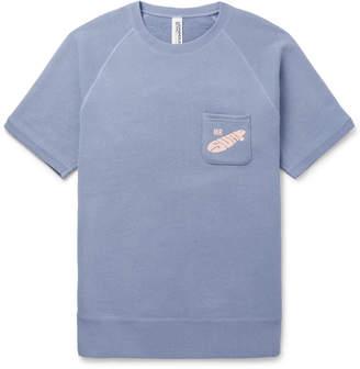 Beams + Loopwheeler Printed Loopback Cotton-Jersey Sweatshirt