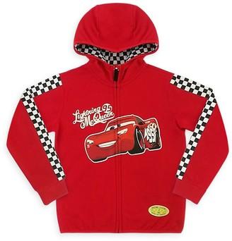 Disney Lightning McQueen Zip Hoodie for Boys Cars
