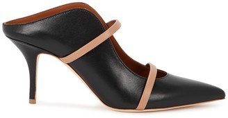 Malone Souliers Maureen 70 Black Leather Mules