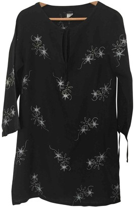 La Perla Black Linen Top for Women