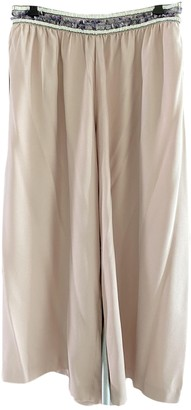 Saloni Pink Trousers for Women