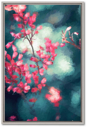 Courtside Market Wall Decor Impasto Branches Ii Gallery Framed Stretched Canvas Wall Art