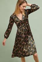 Orla Kiely Greta V-Neck Jacquard Dress