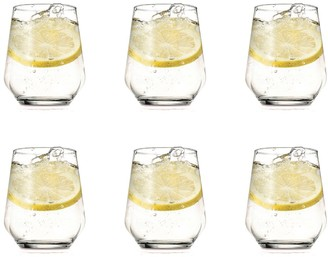 Noritake IVV by Tasting Hour 6 Piece Water Tumbler Glass Set 370ml