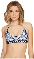 Nicole Miller La Plage by Reversible Jenny Halter Top Women's Sleeveless
