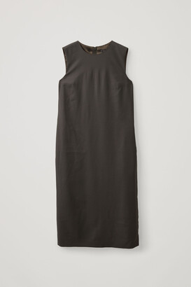 Cos Wool Mix Tailored Dress