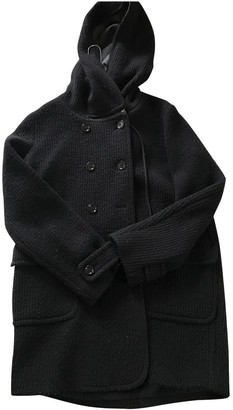 See by Chloe Black Wool Coat for Women