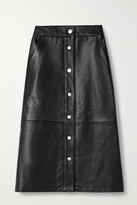 Thumbnail for your product : Deadwood + Net Sustain Lara Recycled Leather Skirt - Black